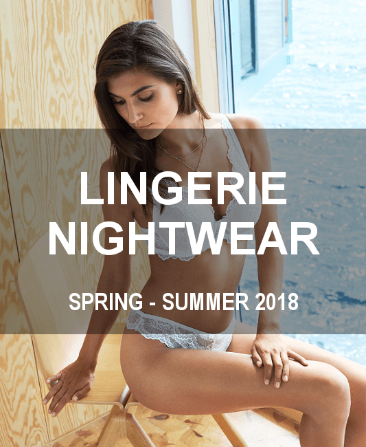 SS18 Lingeri and Nightwear cover - COLLECTIONS